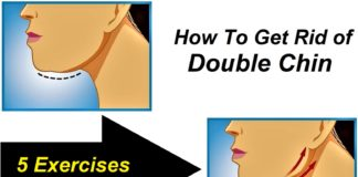 How To Get Rid of Double Chin - Effects and Exercises