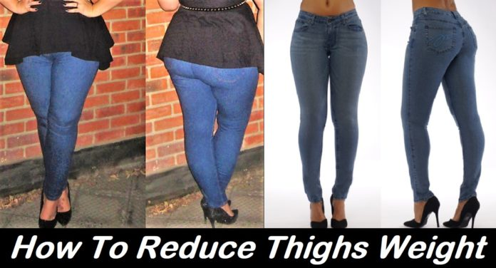 How To Reduce Thighs Weight - Cause and 7 Easy Exercises