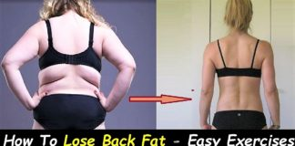 How To Lose Back Fat - 7 Easy Exercises To Lose Back Fat at Home