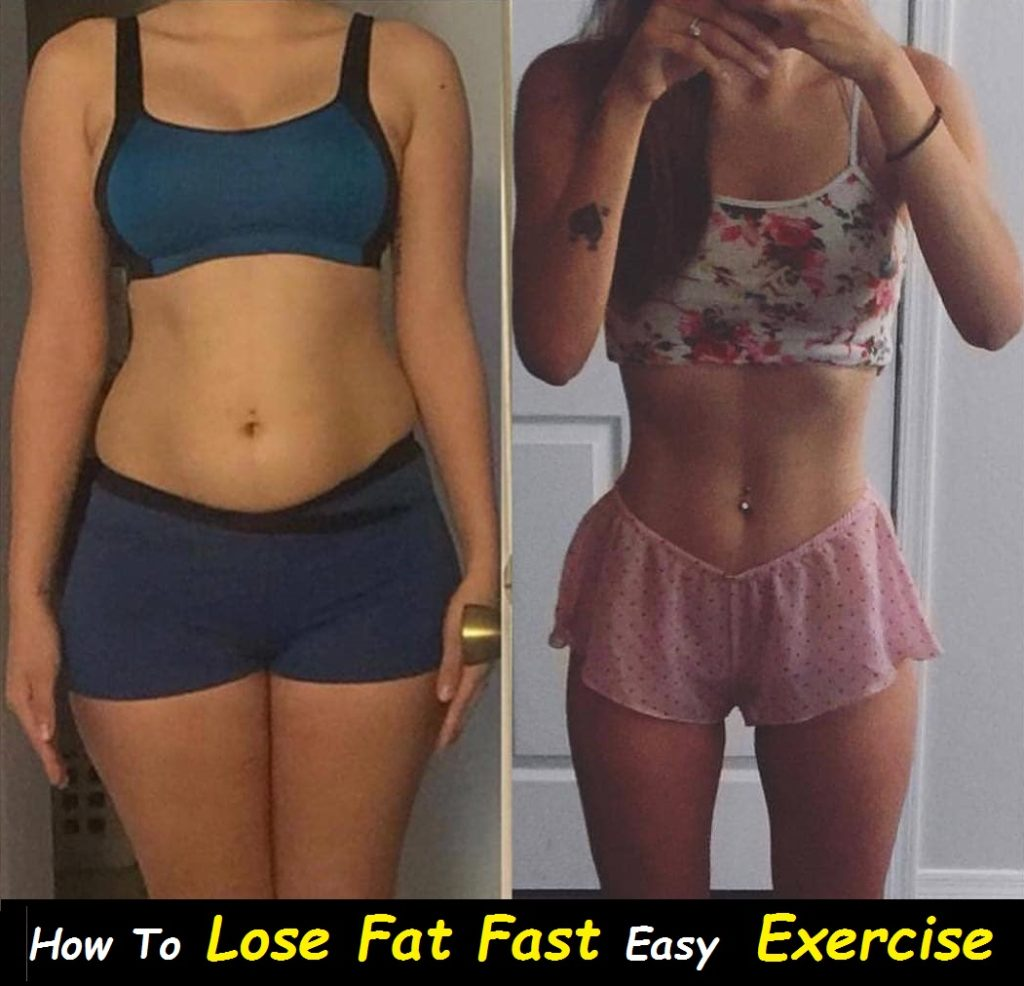 How To Lose Fat Fast - 5 Easy Exercise To Lose Fat at home
