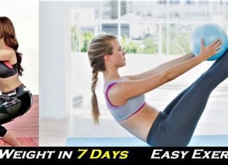 How To Lose Weight in 7 Days - 5 Easy Home Exercises To Lose Fat