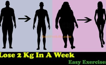 How To Lose 2Kg Weight In A Week - 5 Exercises To Lose Fat at home